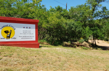 Sunset Creek Game Lodge Sign Board