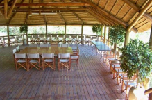 This is the bottom section of the lapa normally used for party's, weddings or conference meetings.